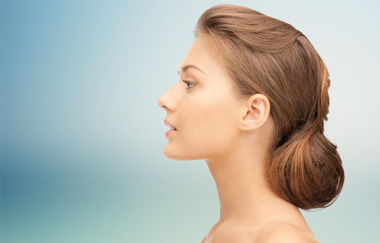 Funktionelle Operation der inneren und äußeren Nase