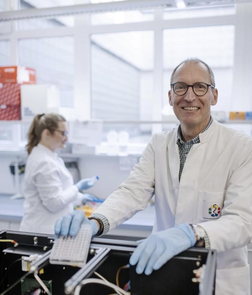 Zuschlag für Medical Scientist Kolleg: Else Kröner-Fresenius-Stiftung unterstützt Essener Forschungstalente - Titelbild